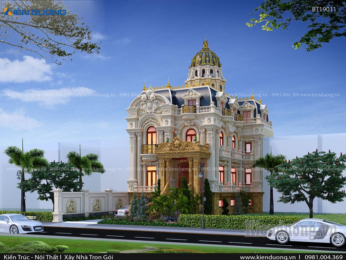 mẫu biệt thự lâu đài đẹp