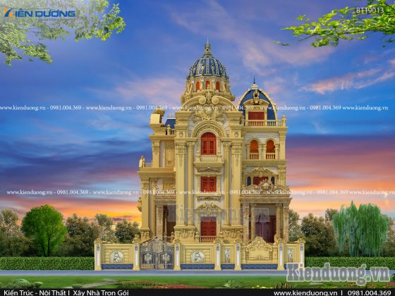 thiết kế lâu đài